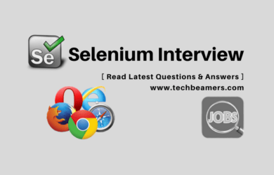 Selenium Interview Questions & Answers - Web Automation