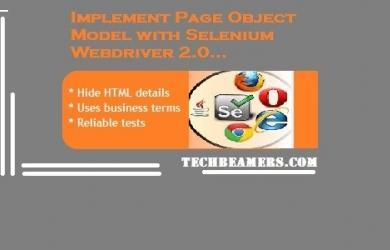 Selenium Tutorial - Page Object Model with Example.