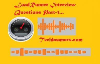 Top 25 LoadRunner interview questions.
