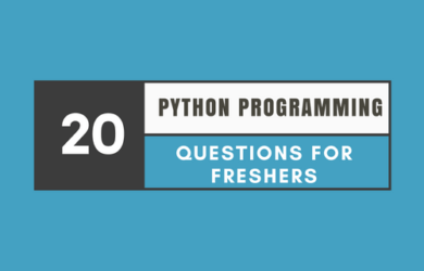 Python Programming Interview Questions for Freshers