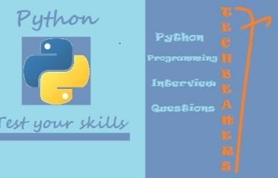 Python programming interview questions Part-1