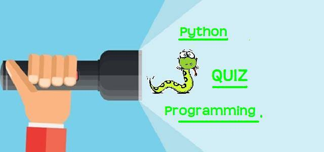 how to make a quiz in python