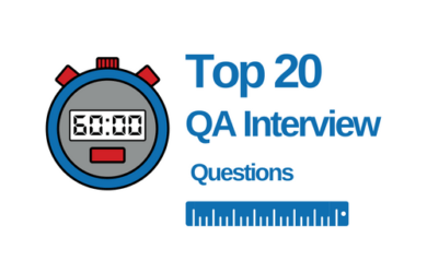 QA Interview Questions for Test Engineers
