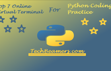 Online Virtual Terminal for Python Coding Practice.