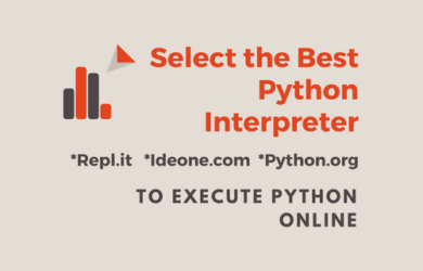 Select the Best Python Interpreter to Execute Python Online