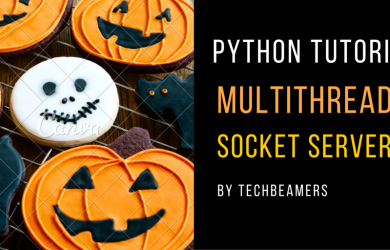 Multithreaded Python server program
