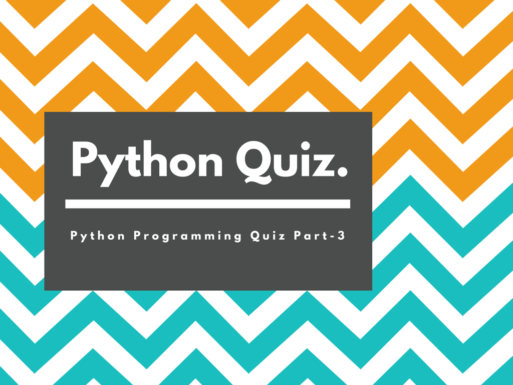 Python Quiz for Beginners With 20 Questions Part-2