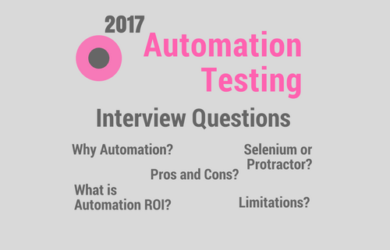 Automation Testing Interview Questions and Answers