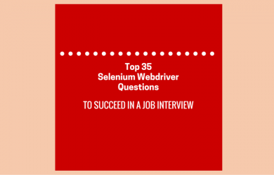 35 Selenium Webdriver Questions For Testing Jon Seekers.