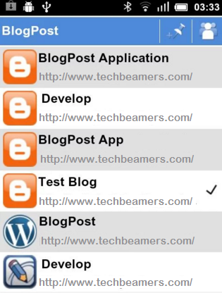 BlogPost Android Apps for Bloggers