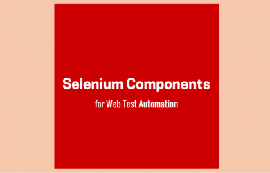 Selenium Components for Web Test Automation