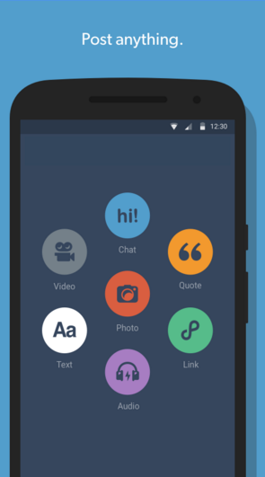 Tumblr Android Apps for Bloggers
