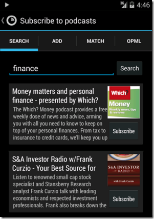 Podkicker Android Apps for Bloggers