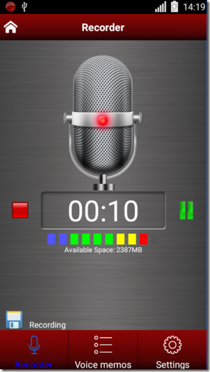 Voice Recorder Android Apps for Bloggers