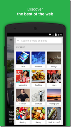 Feedly Android Apps for Bloggers