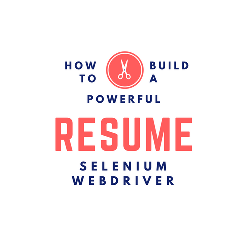 How to Build a Powerful Selenium Webdriver Job Profile