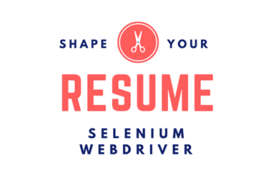 Sample Resume for Selenium Webdriver Job Profile