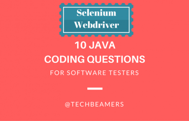 Java Coding Questions for Software Testers