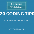 Selenium Webdriver Coding Tips for Software Testers