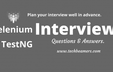 Selenium TestNG Interview Questions and Answers