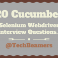 Selenium Webdriver Cucumber Interview Questions