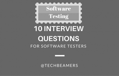 Software Testing Interview Questions for Manual Testers - Part1