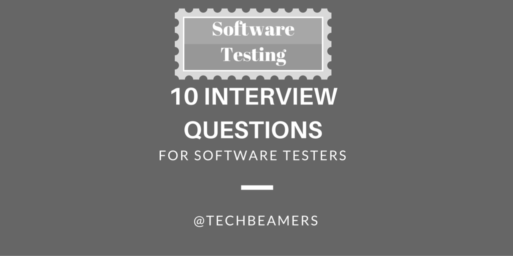 Software Testing Interview Questions In Retail Domain