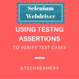 Using TestNG Assertions to Verify Tests