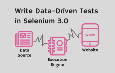Writing Data-Driven Tests in Selenium 3.0