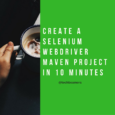 Create a Selenium Webdriver maven project using TestNG and Eclipse