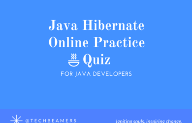 Java Hibernate Online Practice Quiz for Java Developers