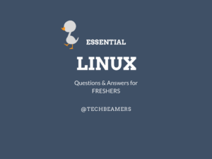 Essential Linux Questions and Answers for Freshers