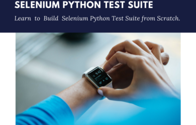 Build Selenium Python Test Suite Using Unittest