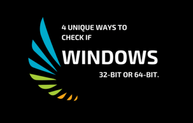 4 Unique Ways to Check if Windows is 32-bit or 64-bit