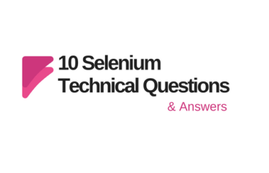 Selenium testing interview questions and answers