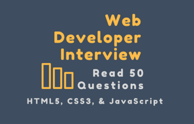 50 Web Developer Interview Questions for Sure Success