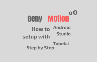 Genymotion Android Studio Tutorial