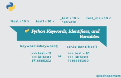 Python Keywords, Identifiers, and Variables for Beginners