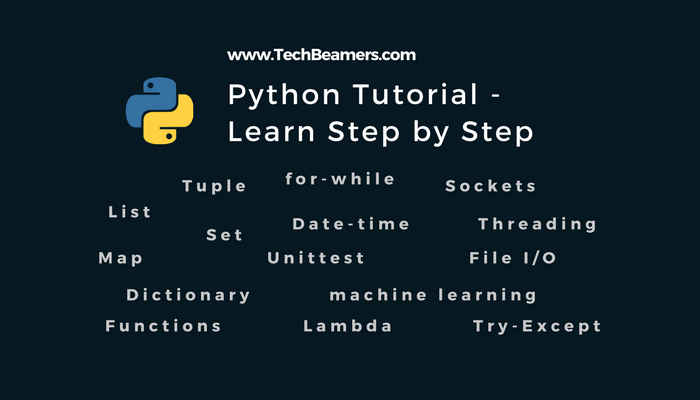 Python Tutorial: A Complete Guide to Learn Python Programming