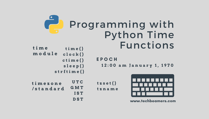 Python Time Functions Usage And Applications With Examples