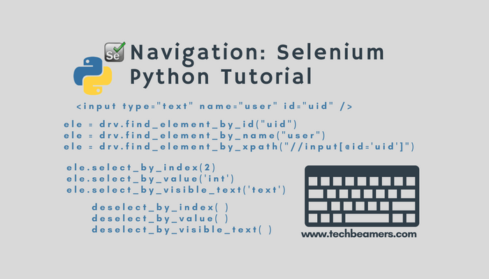 Navigation: How to Navigate a Web Page in Selenium Python