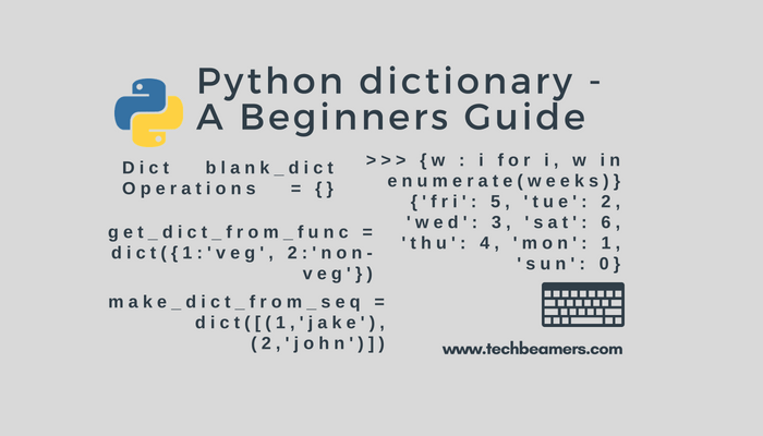 Python Dictionary - Create, Append, Update, Delete Examples