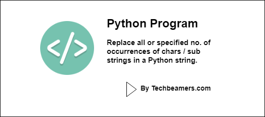 Replace All or Num Occurrences of a Character in a Python String